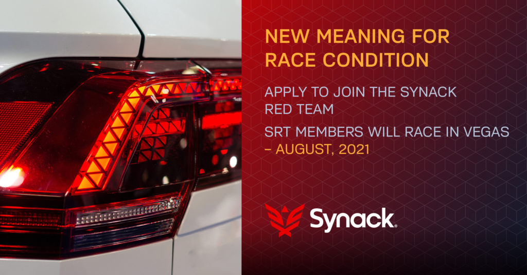 Synack Race Condition Promotion