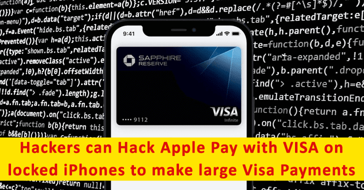 Hackers Can Bypassed Apple Pay & Contactless limit to Make Large Visa Payments With Locked iPhones